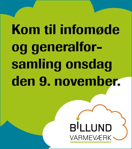 Generalforsamling Billund Varmeværk 2016
