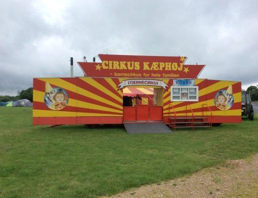Cirkus Kæphøj facade