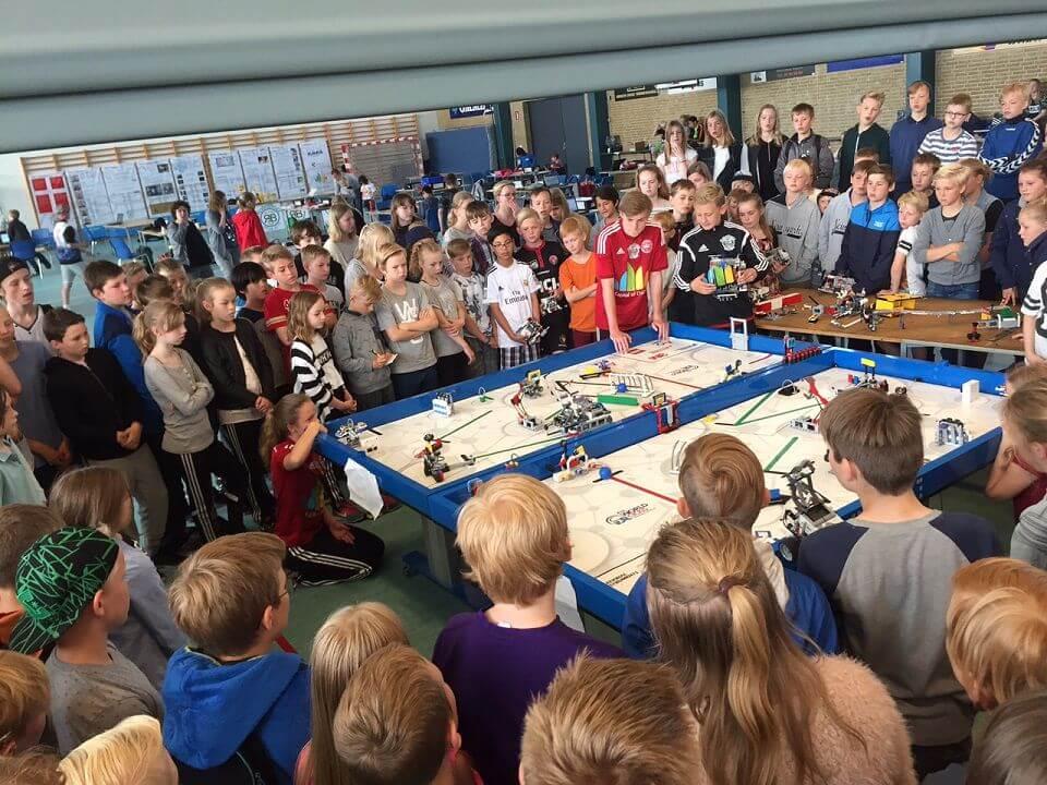 Den verdenskendte robotkonkurrence FIRST LEGO League indtager Børnenes Hovedstad i 2016. Arkivfoto