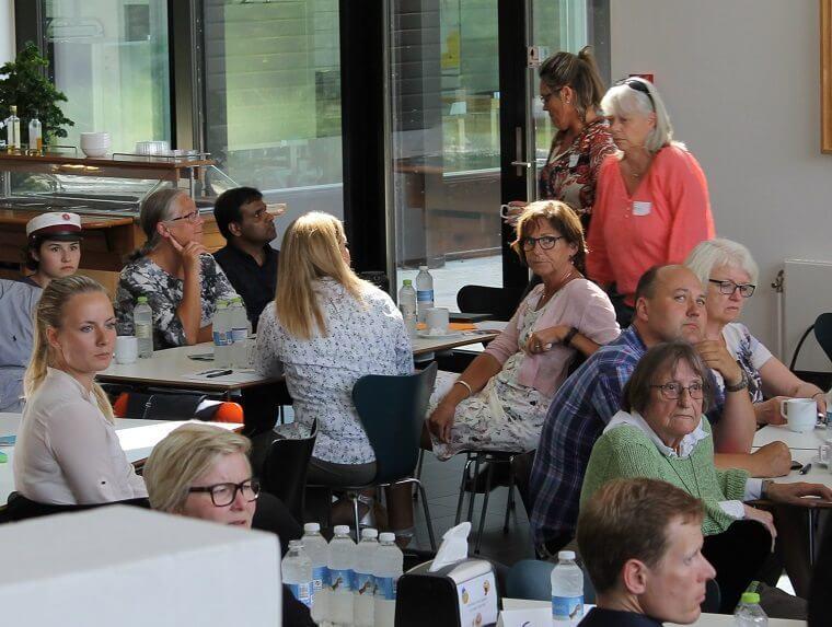 Godt 70 borgere, foreningsaktive, politikere og embedsmænd deltog onsdag den 22. juni i temamøde, der er afsæt mod en integrationspolitik i Billund Kommune.