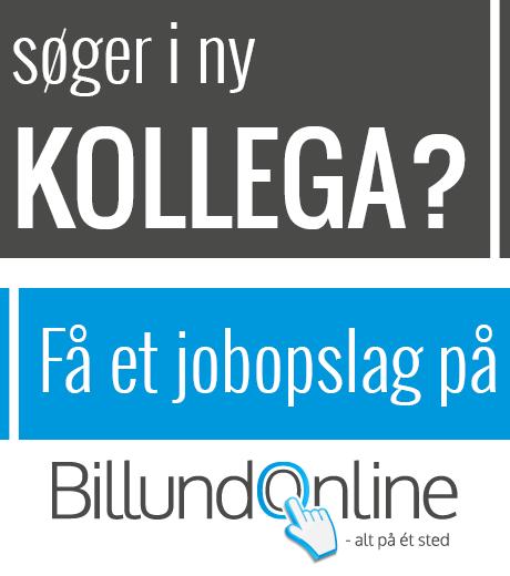 Annoncering af jobopslag på BillundOnline