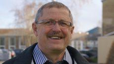 Kurt Østergaard går på efterløn i slutningen af august. Foto: Grindsted Landbrugsskole