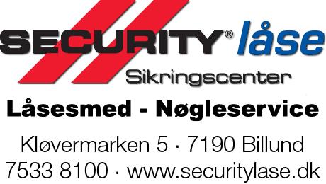 Security Låse, Billund