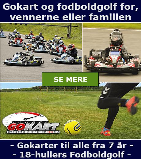Vandel Gokart - Fodboldgolf