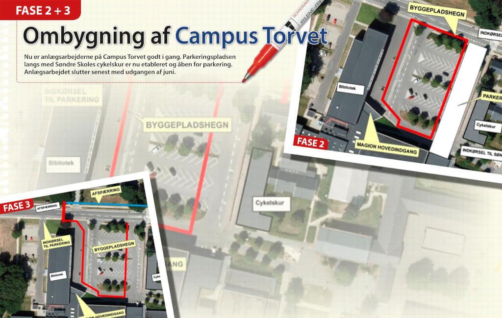 Webbanner Campus Torvet fase 2 og 3