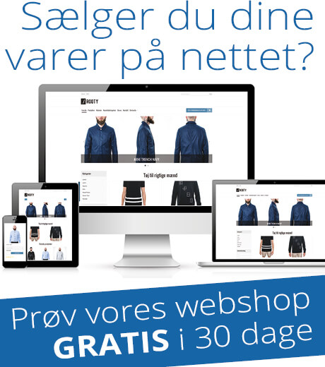 Webshop annonce