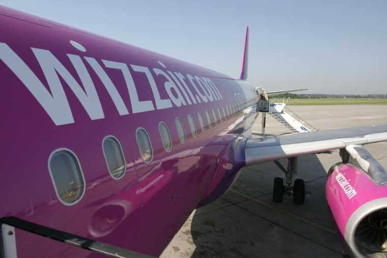 Wizz Air udvider igen fra Billund Lufthavn. Arkivfoto