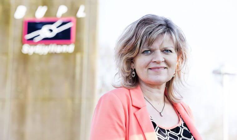 Jonna Jul Gudmundsen. Formand for BUBL Sydjylland. Foto: bubl.dk