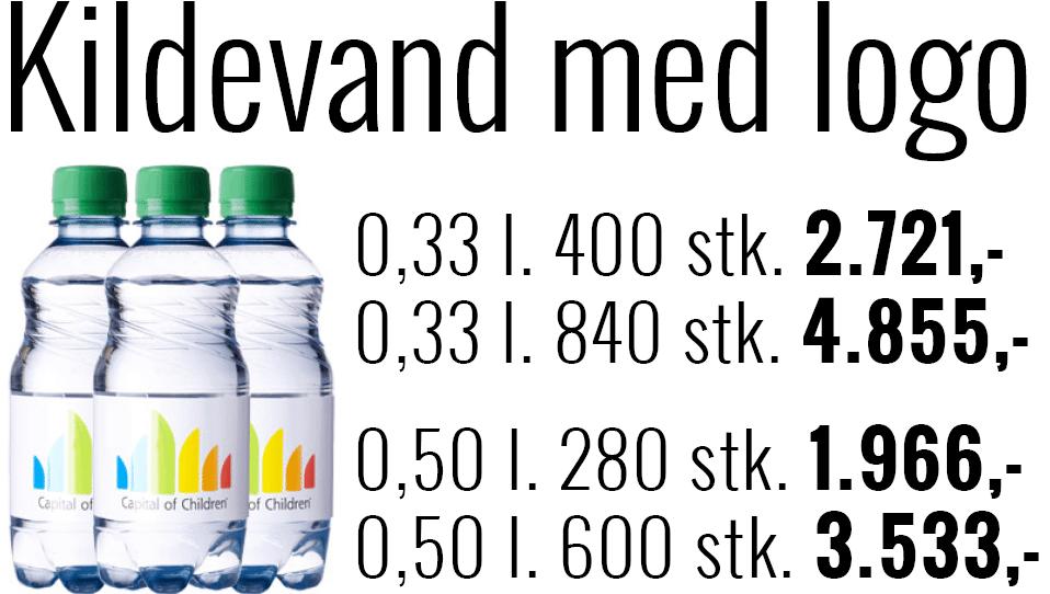 logoannonce med vandpriser