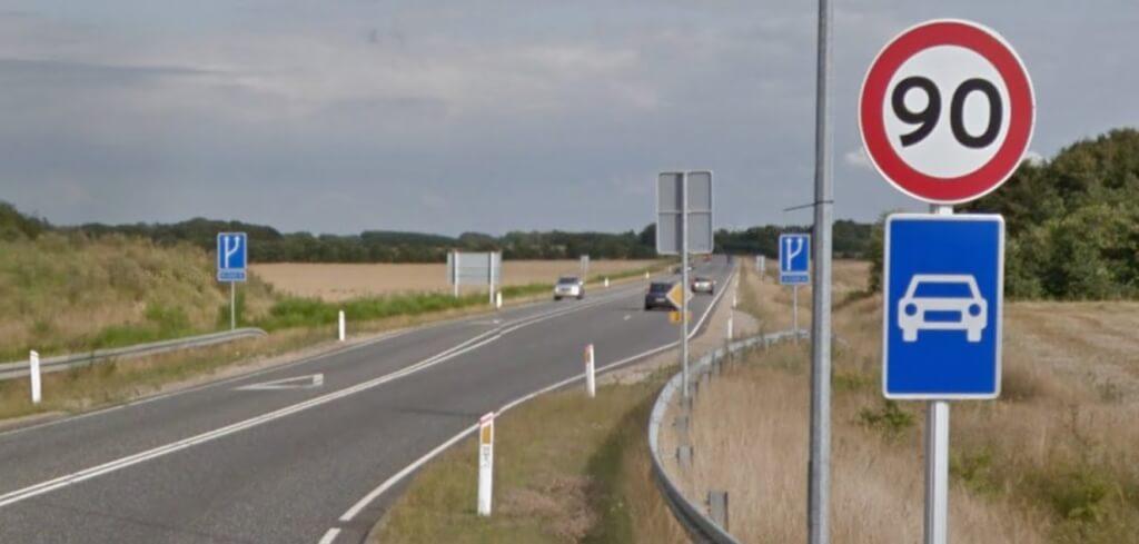 kørsel på motortrafikvej
