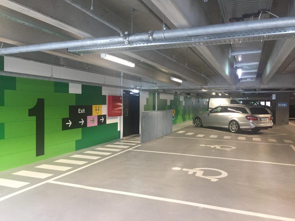 billund lufthavn parkering pris