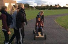 Der blev gået til stålet da 8.C fra BillundSkolen havde teambuilding-dag.